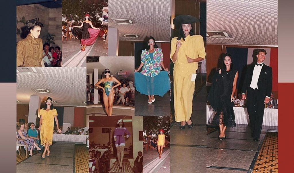 בתצוגות אופנה