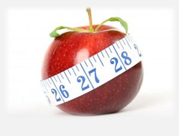 תמונה של תפוח לגברים מבנה גוף בצורת תפוח.