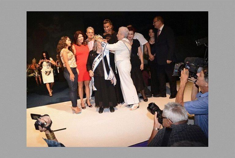תחרות מלכת היופי ניצולות השואה 2013 מלכת היופי של ניצולות השואה היא שושנה קולמר בת 93 מהבית החם בחיפה.תמונת המלכה הזוכה